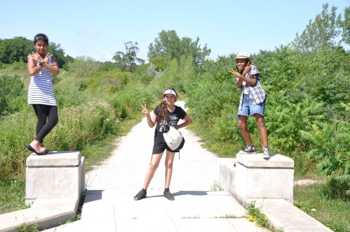 Hiking our way to Evergreen Brickworks