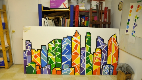 Outlining the cityscape