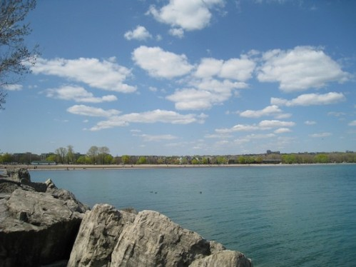 Woodbine beach's amazing view